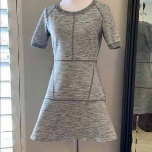 Athleta Cotton Stretch Fit and Flare Mini Dress